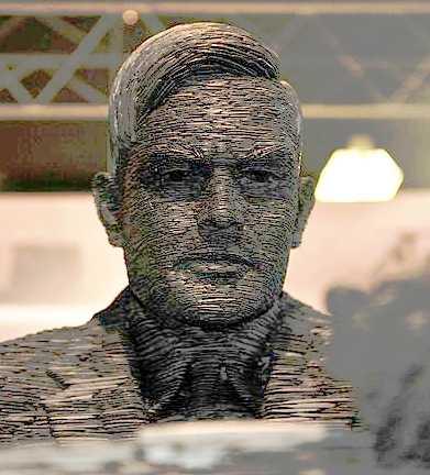 Alan Turing Büste