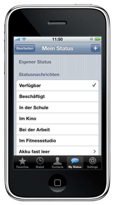 WhatsApp 1.0: Am Anfang war der heutige Messenger lediglich eine Status-App. Die Nachrichten-Funktion kam erst später hinzu.