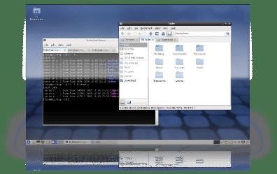 Die LXDE-Variante von Fedora