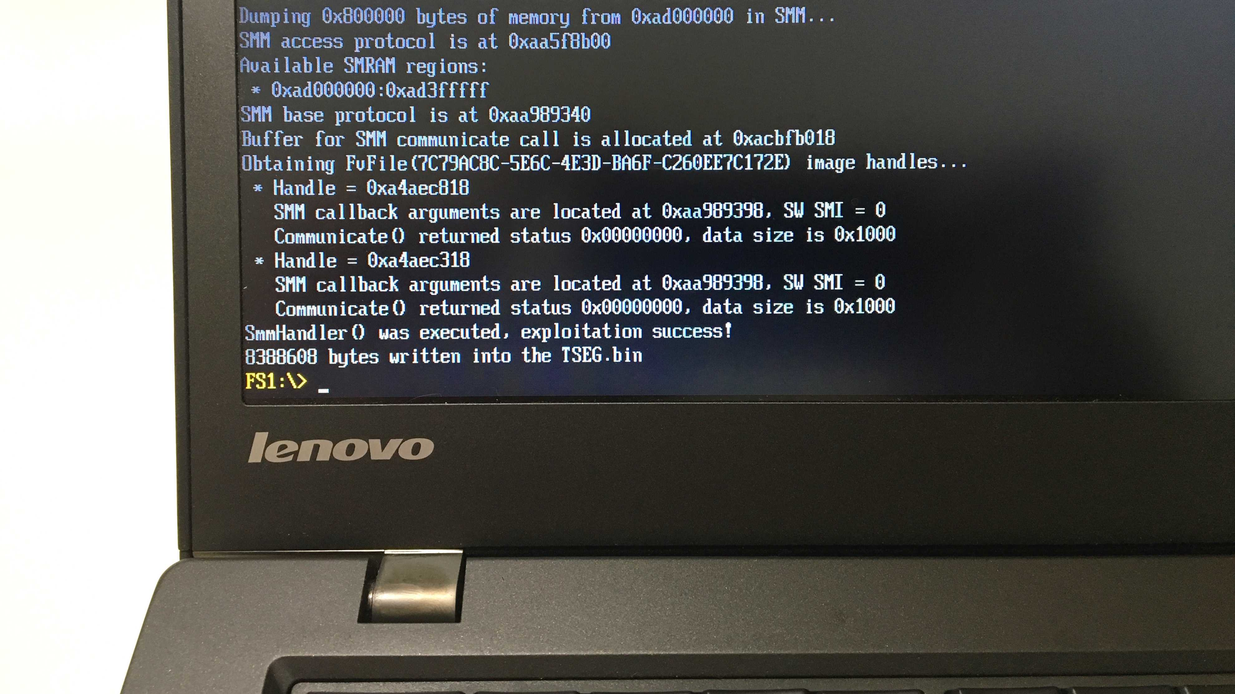 ThinkPwn: BIOS-Lücke