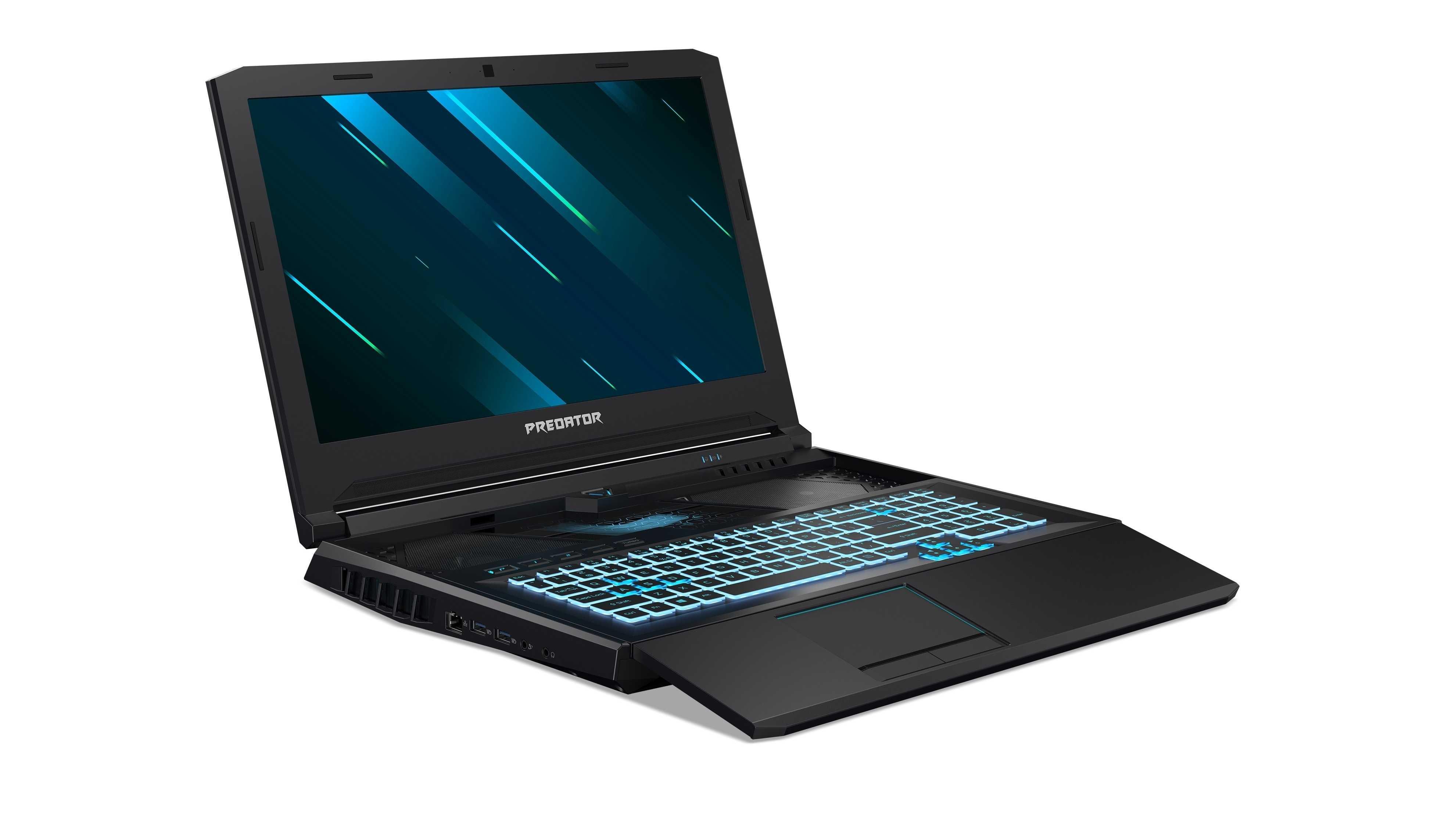 next@Acer: Gaming-Notebook mit ausziehbarer Tastatur