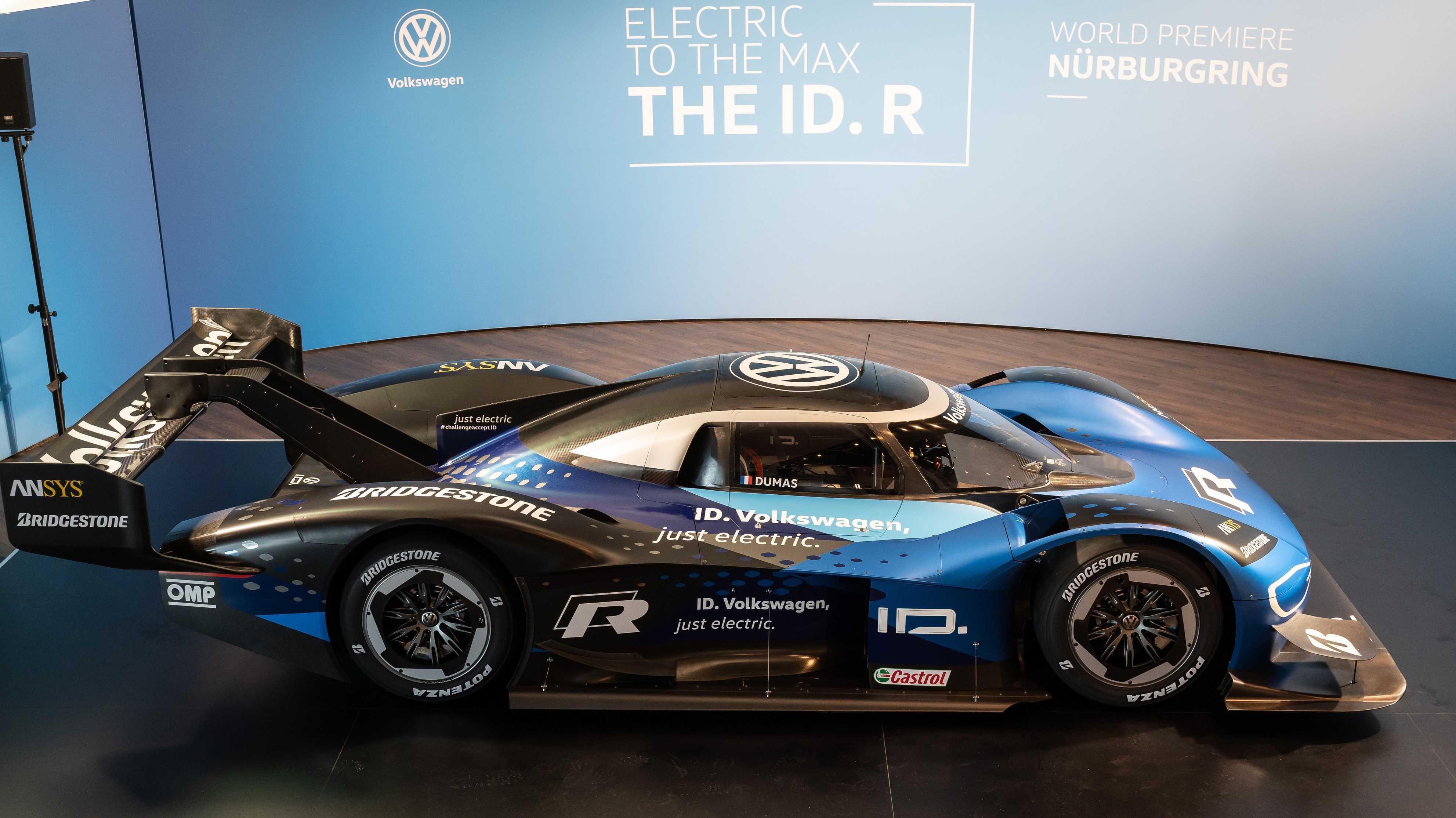 Elektro-Rennwagen VW ID. R soll den Nordschleifen-Rekord brechen
