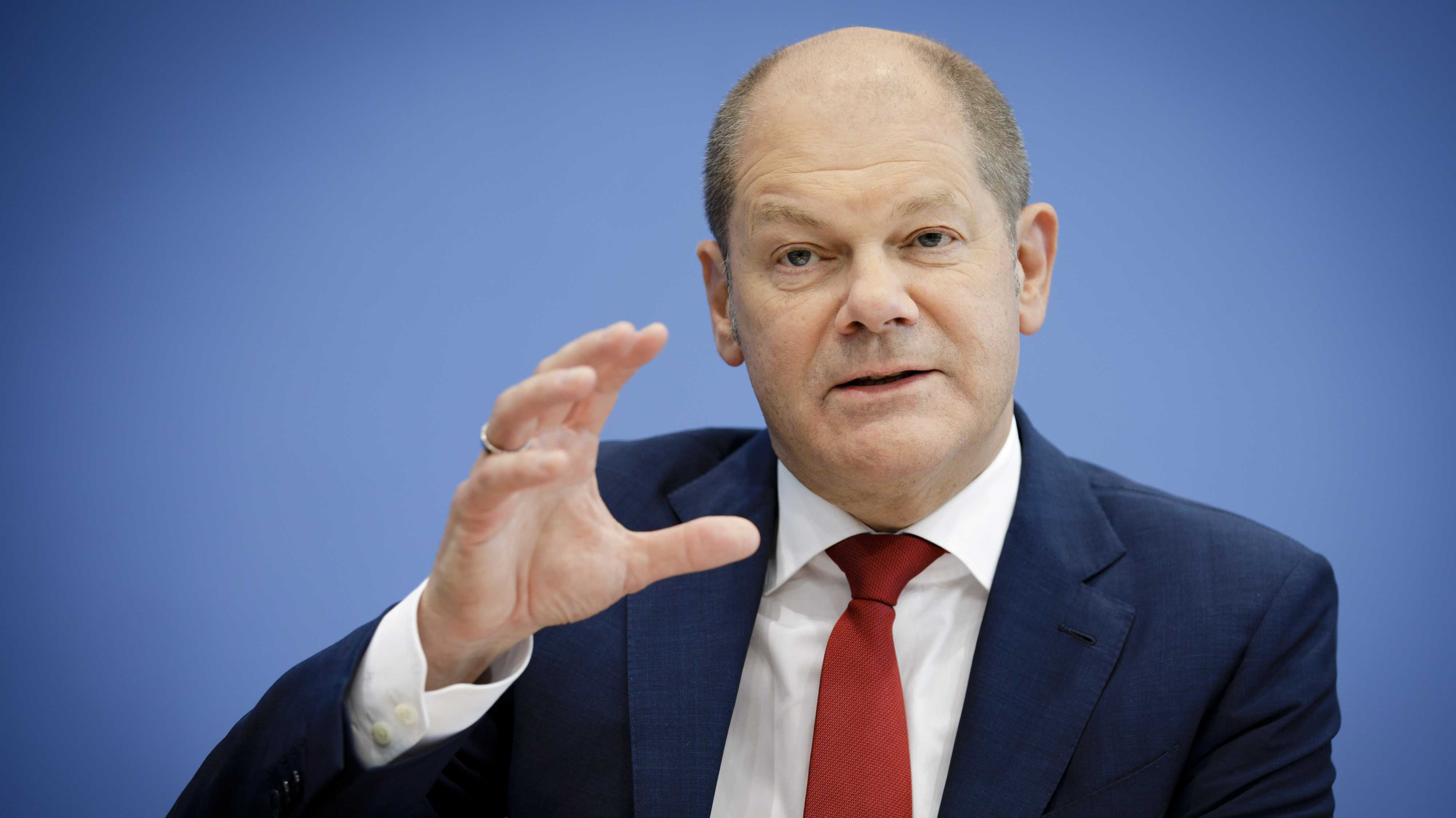 """Olaf Scholz: Stärkere Beseteuerung von Digitalkonzernen """"kompliziert"""""""