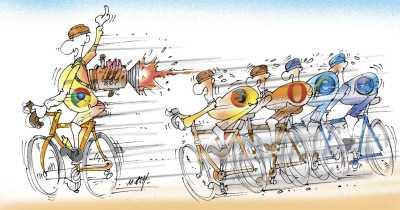 Ungleiches Rennen