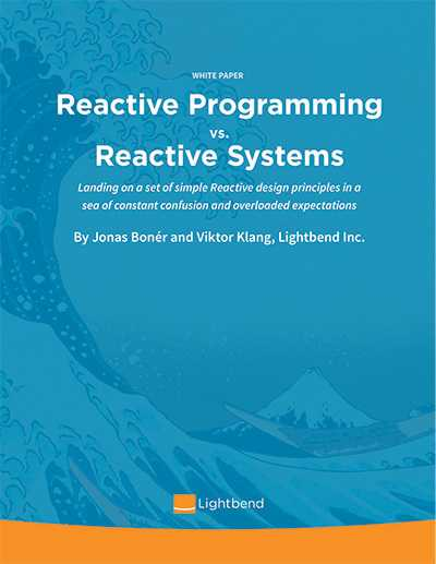 Reactive Programming versus Reactive Systems