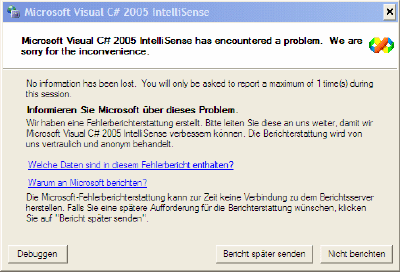 Windows Workflow Bug 3: Ich wollte nur ein Attribut umbenennen