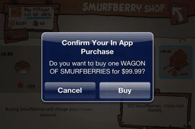 In-App-Einkäufe können viel Geld kosten.
