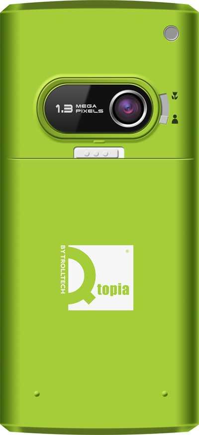 Qtopia Greenphone Rückseite