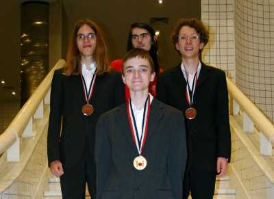 Das deutsche Team hat bei der Informatikolympiade in Kairo große Anerkennung erworben.