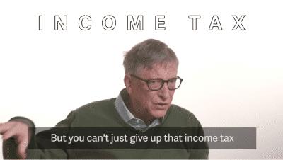 Roboter mit Einkommensteuer wie ersetzte Arbeiter belegen: Bill Gates