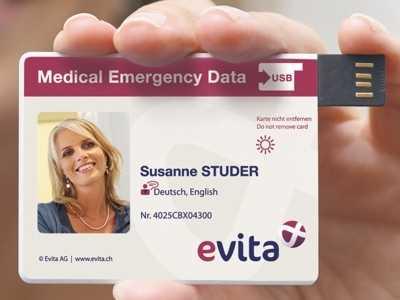 Evita-Karte