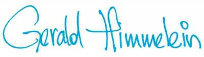 Unterschrift Gerald Himmelein