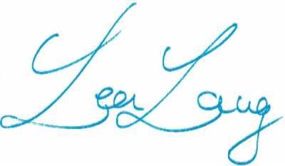 Unterschrift Lea Lang