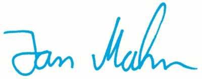 Unterschrift Jan Mahn