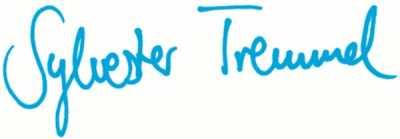 Unterschrift Sylvester Tremmel