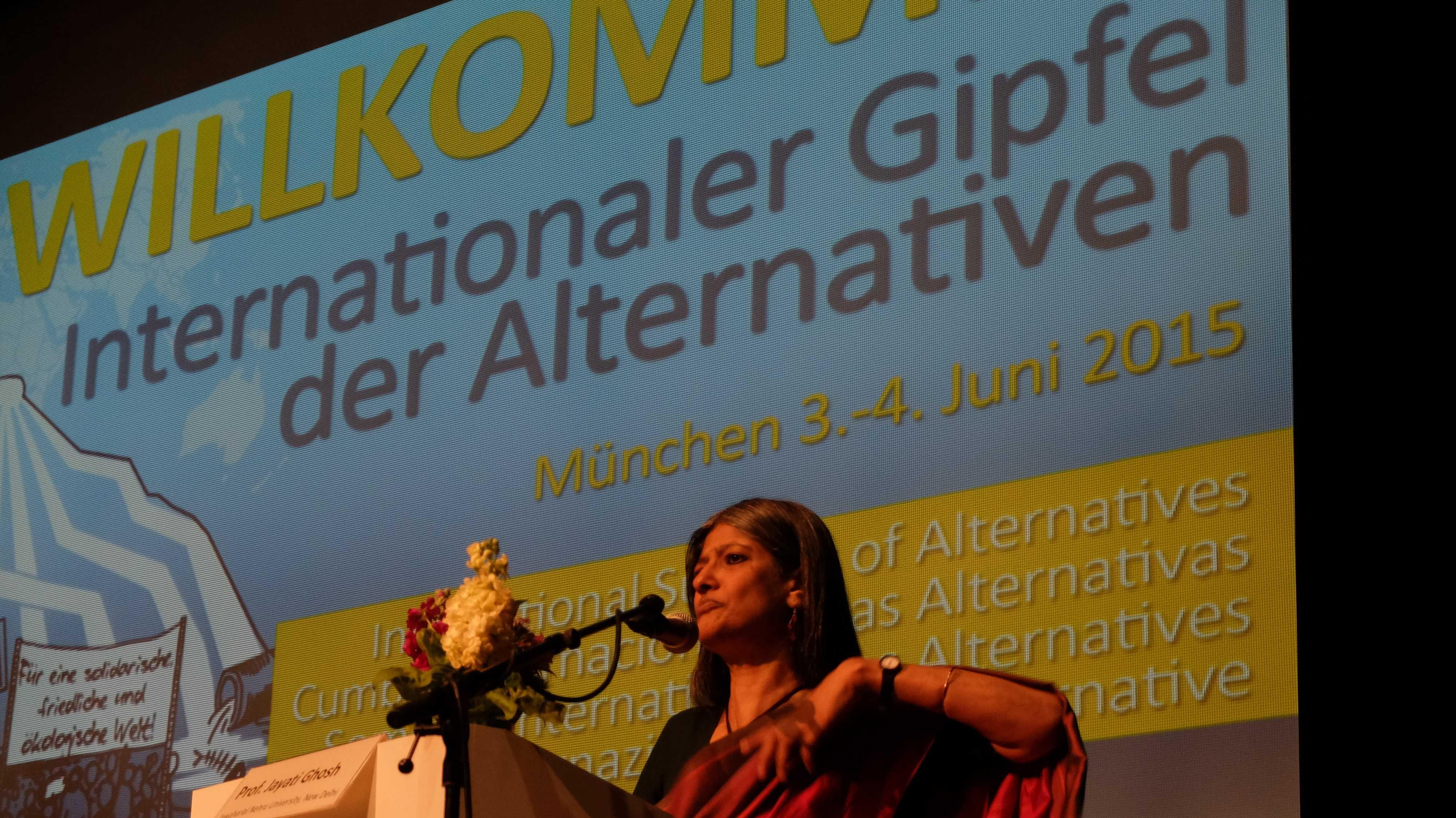 """Alternativgipfel zur G7: Wider die """"Erfüllungsgehilfen"""""""