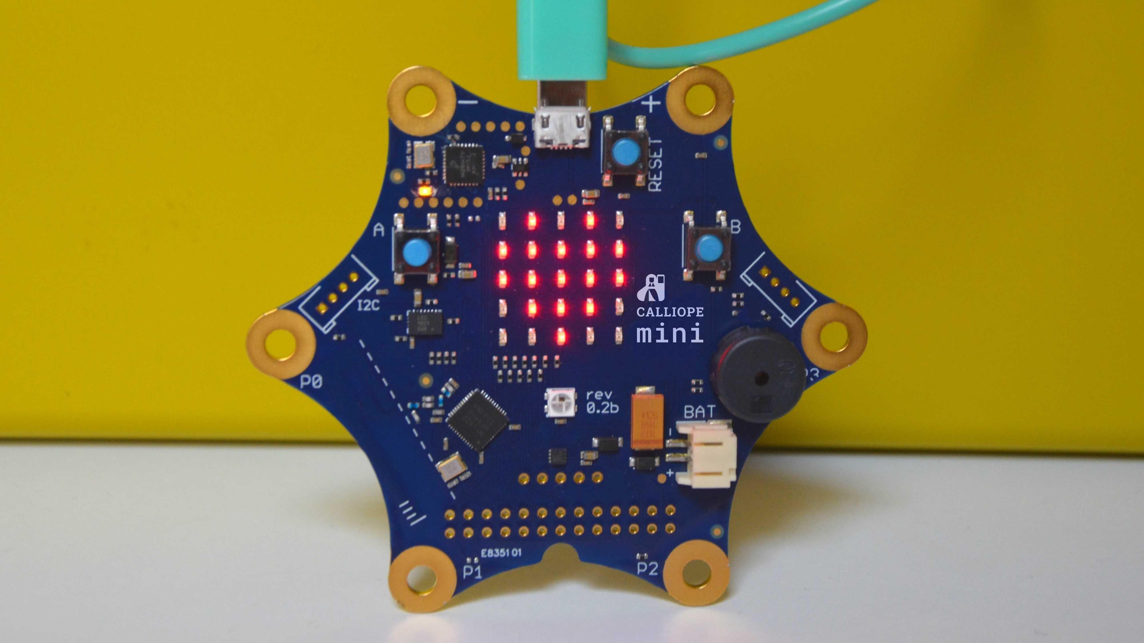 Calliope mini: Mikrocontroller für die Grundschule