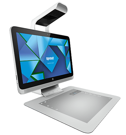 All-In-One-PC mit Touchpad und 3D-Kamera:HP Sprout