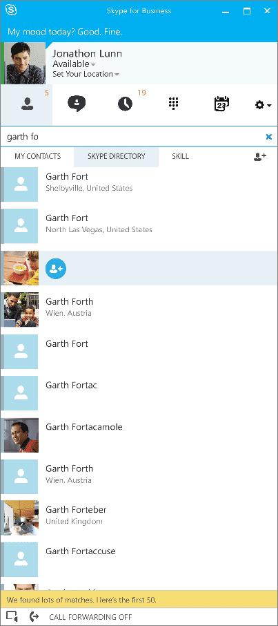 Schein und Sein: Mit dem neuen Namen erhält der Client ebenfalls die Skype-Oberfläche.