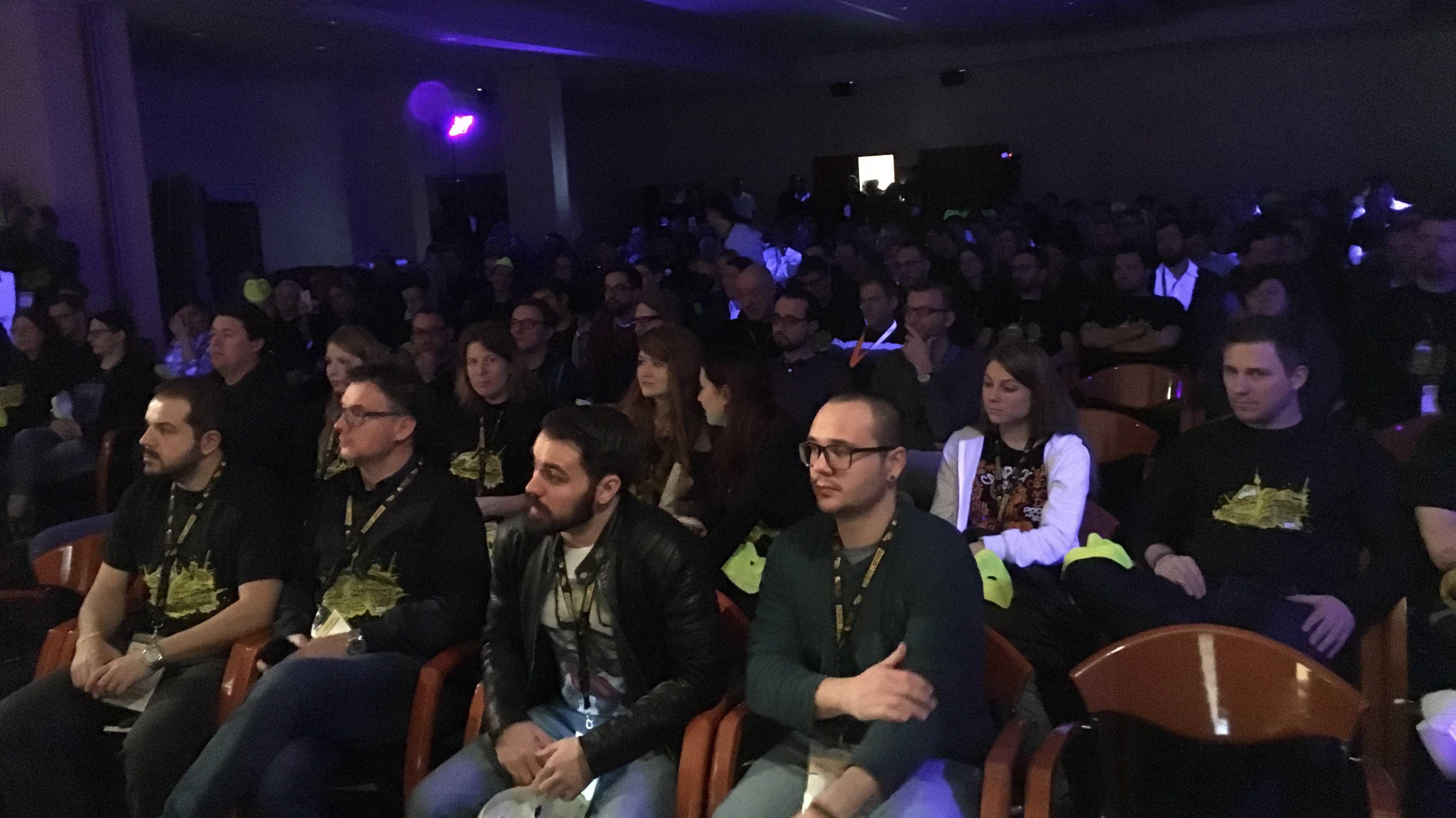 Blick ins Plenum der SEO Campixx 2016