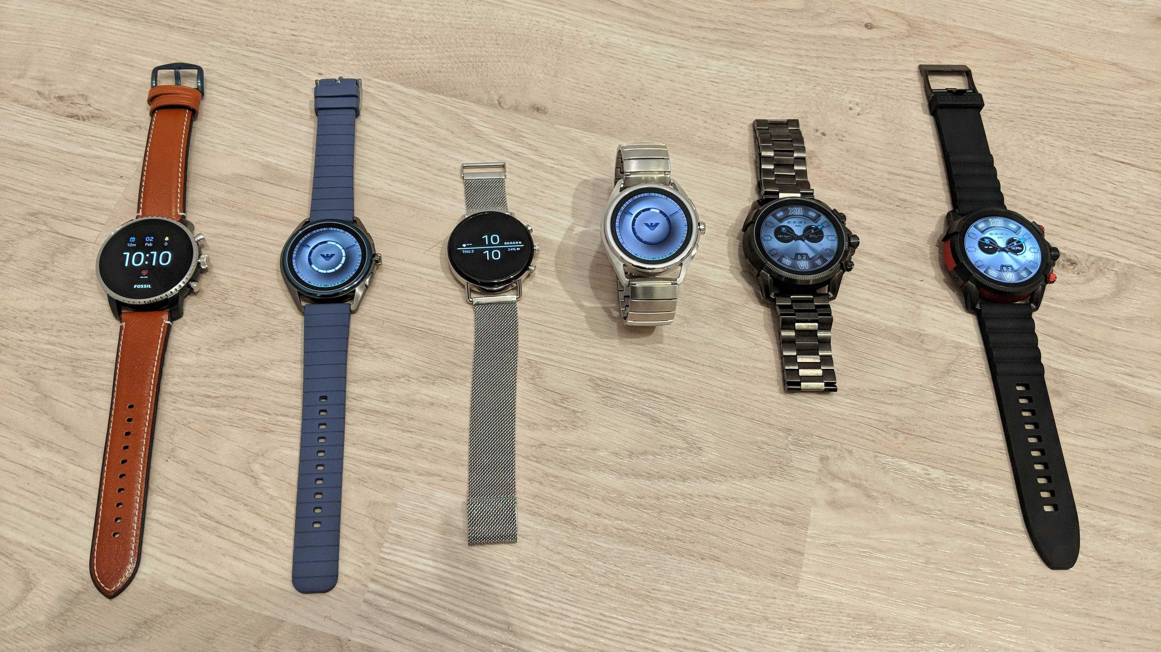 Smartwatches mit Pulssensor und Google-Pay-Unterstützung