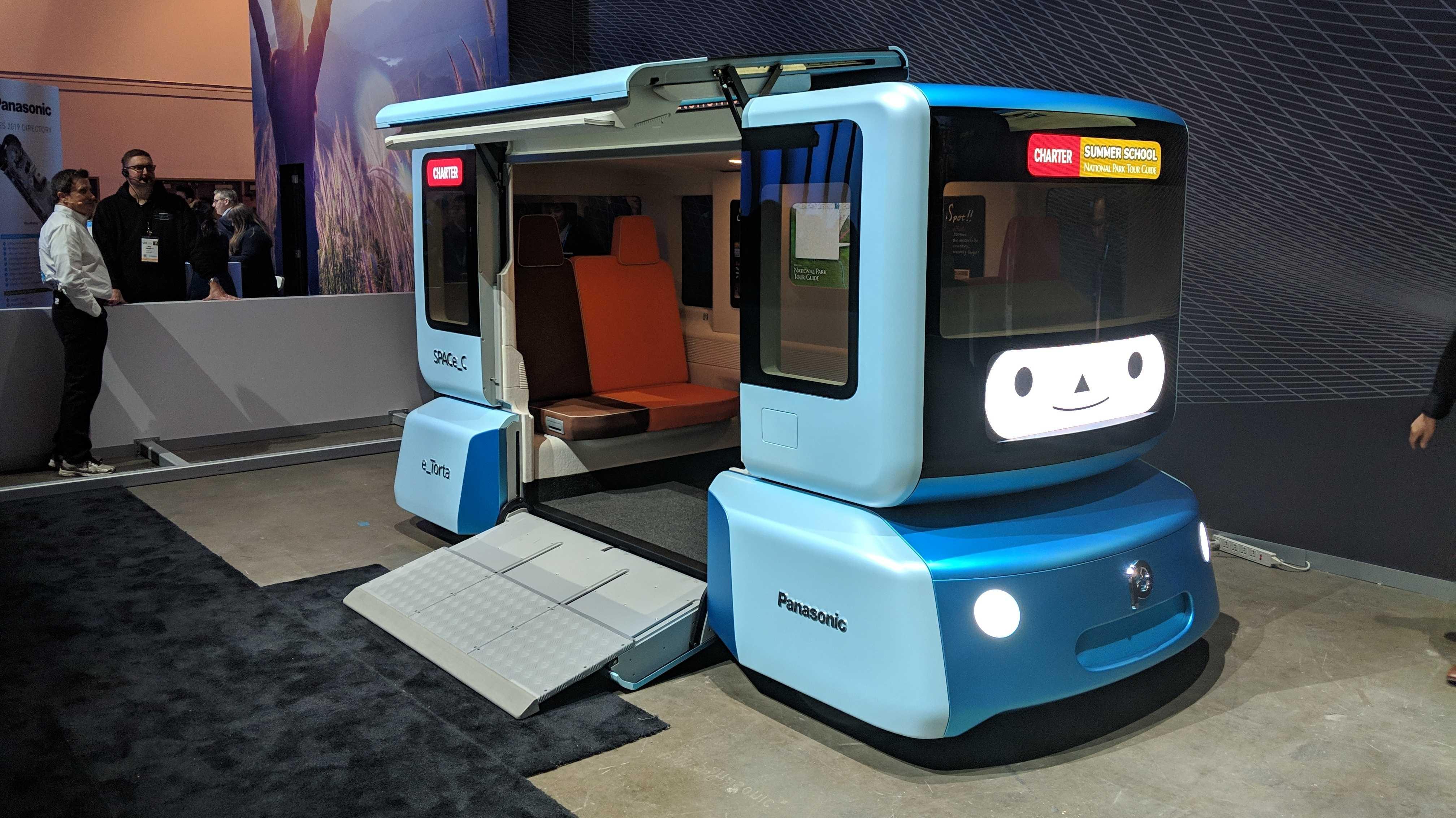 Panasonic stellt 48-V-Elektromotor und variables E-Kleinfahrzeug vor