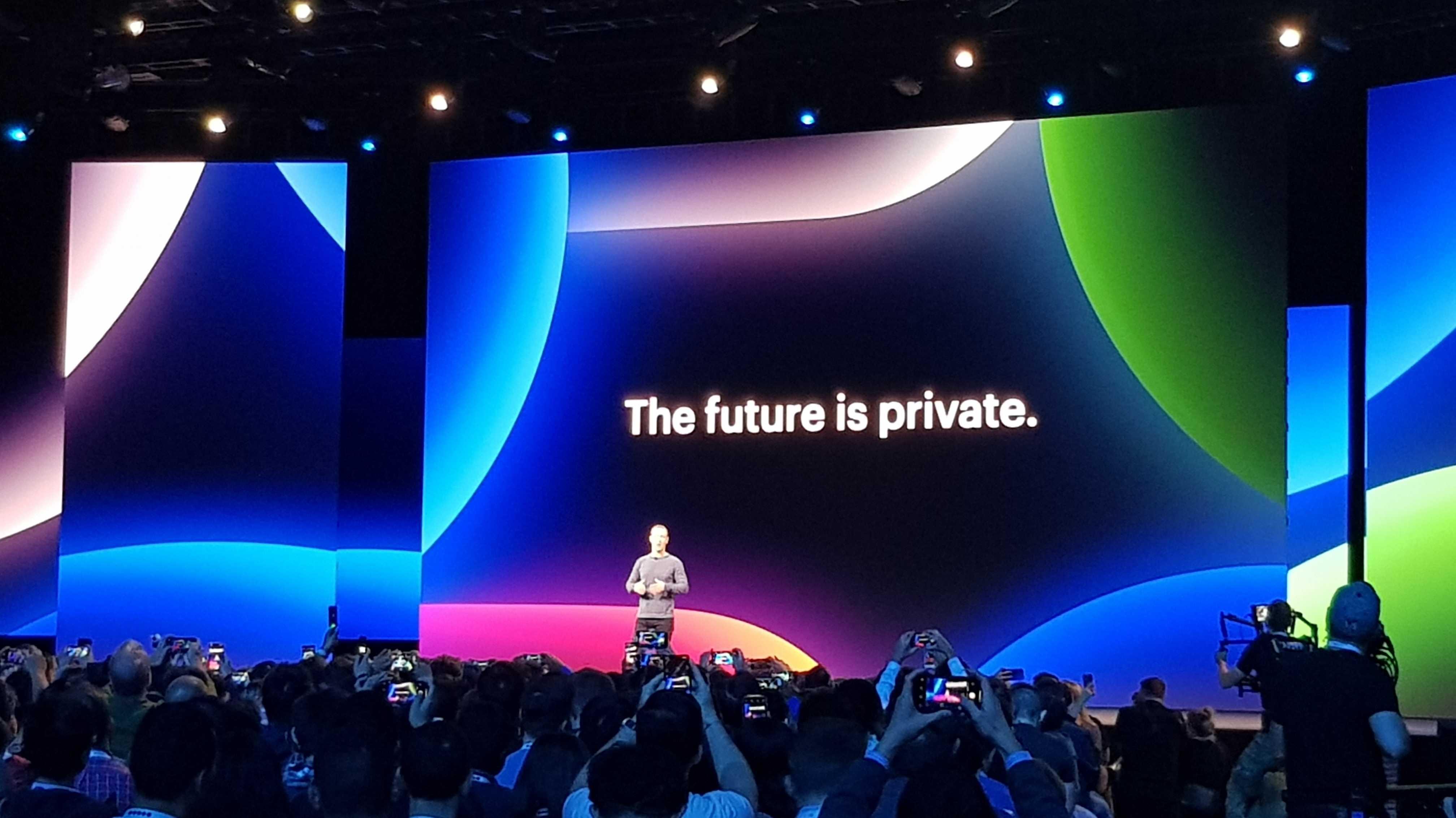Facebook F8: Die Zukunft ist privat