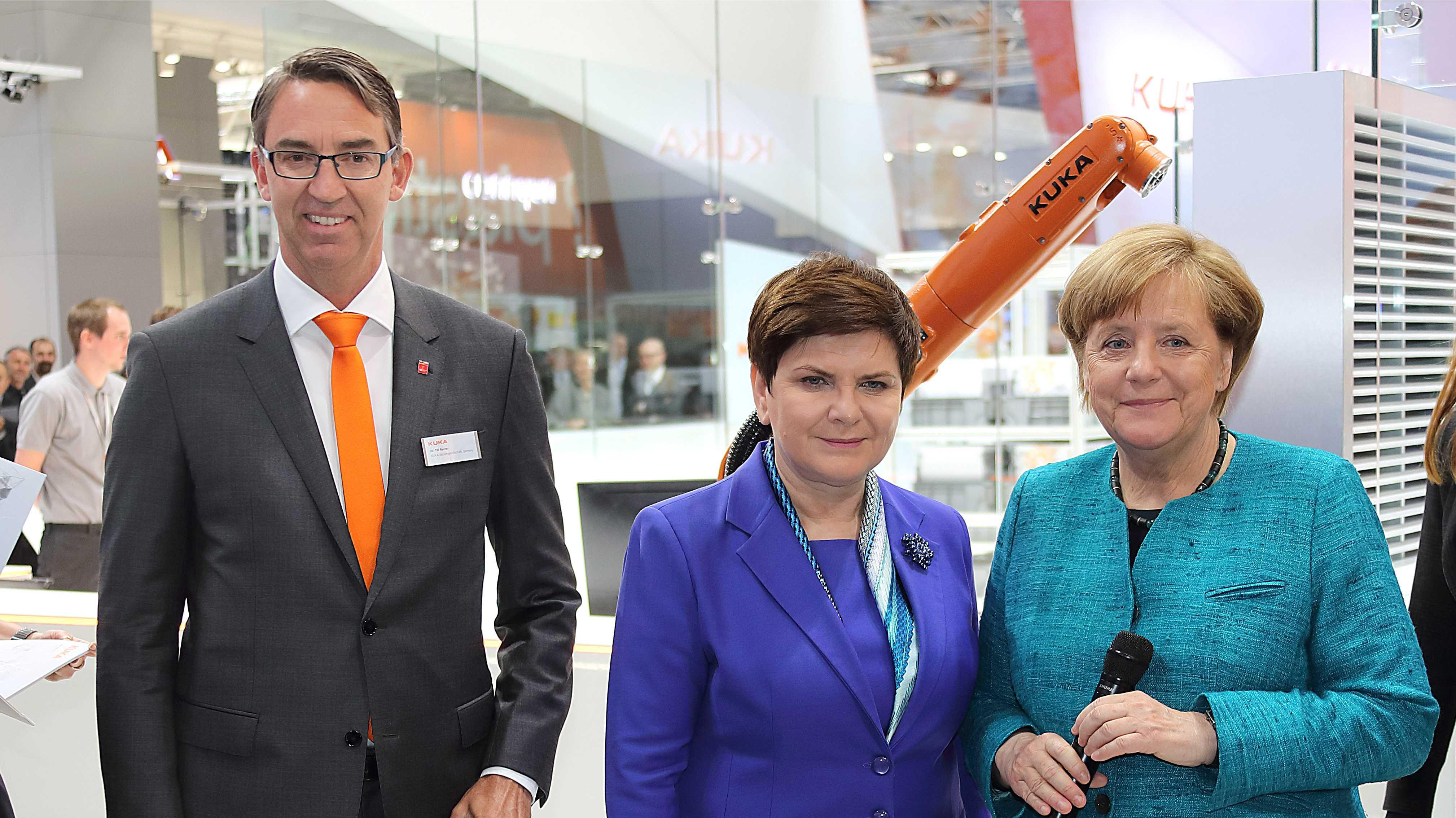 Kuka-Vorstandschef Reuter verlässt vorzeitig Roboterhersteller