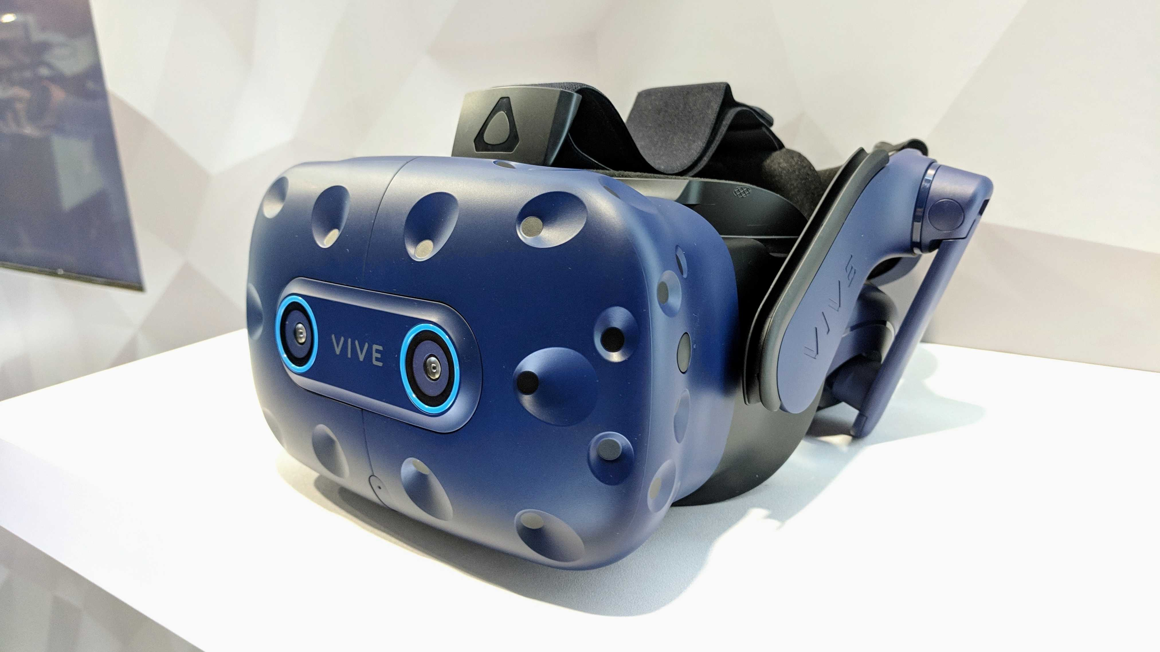 Vive Pro Eye: VR-Headset mit Eye-Tracking ausprobiert