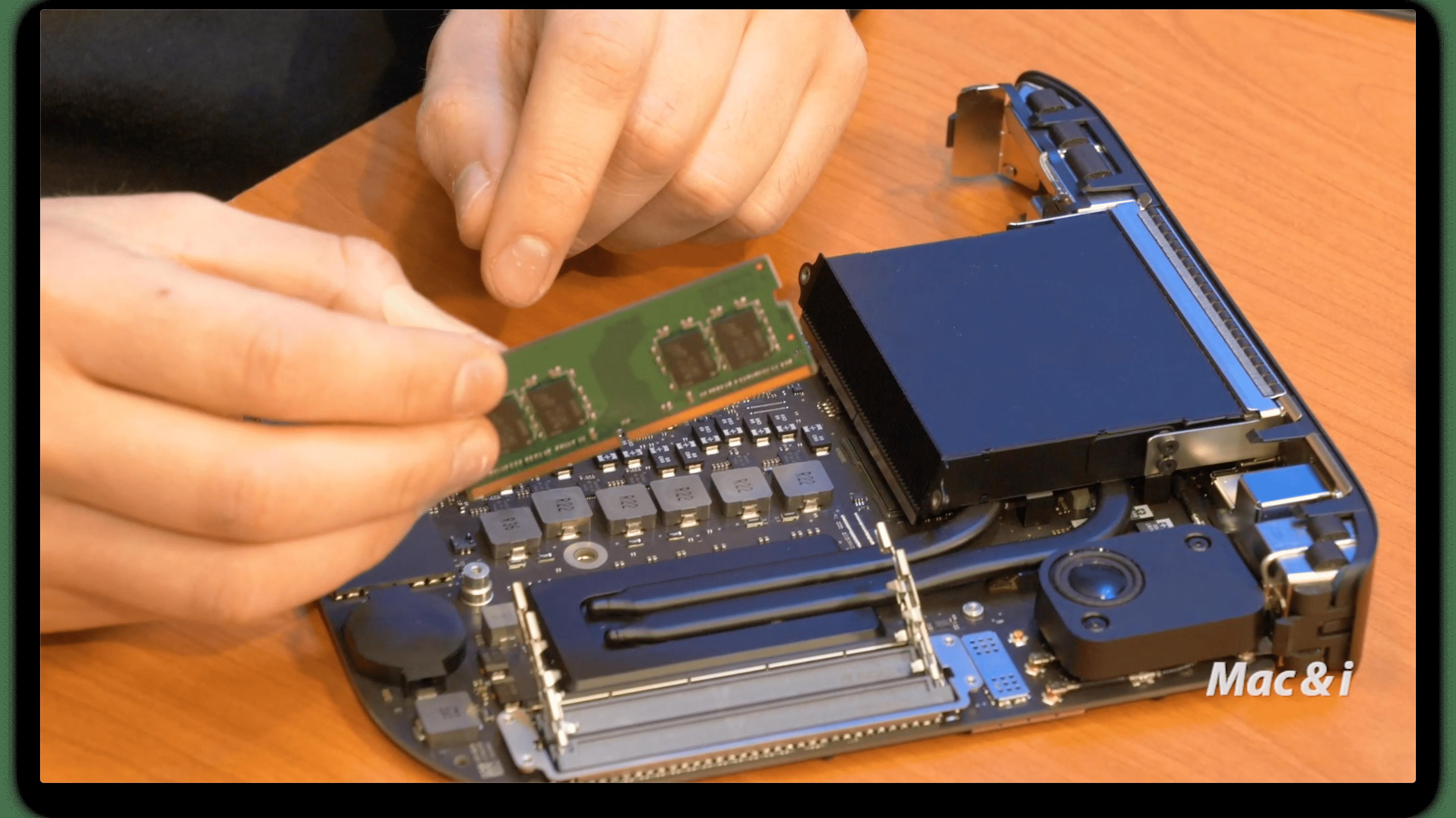 Video: Wie man den Mac mini 2018 aufrüsten kann