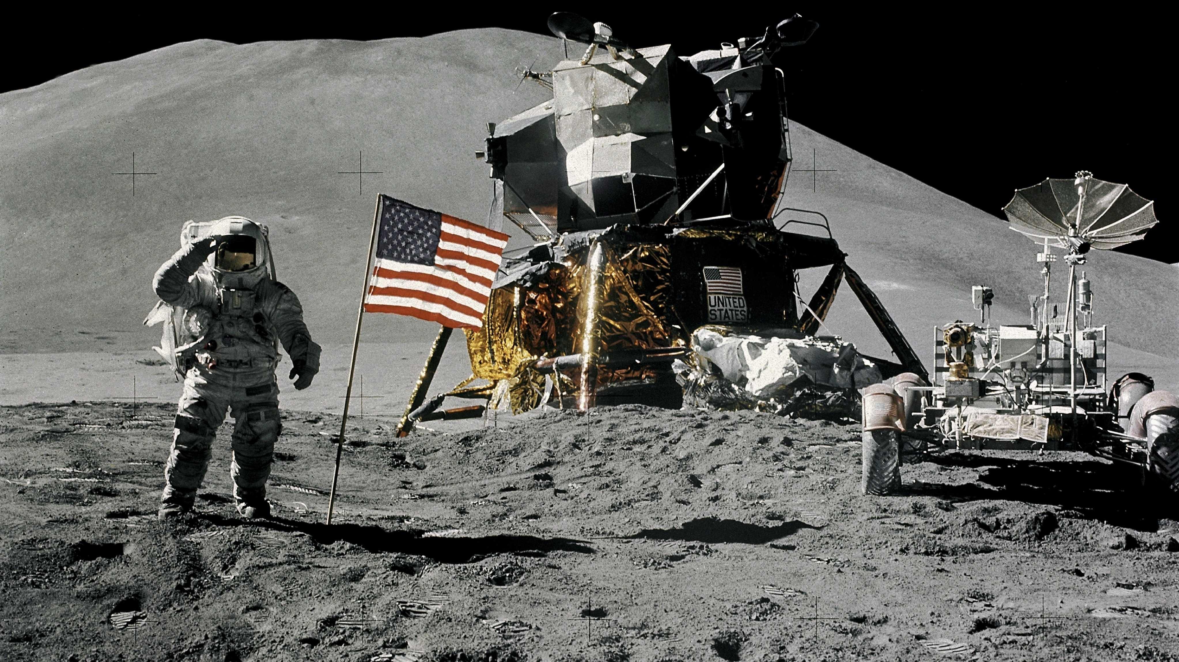 Tollkühne Männer in ihren fliegenden Dosen: Apollo - die Mondmissionen und ihre Vorbereitung