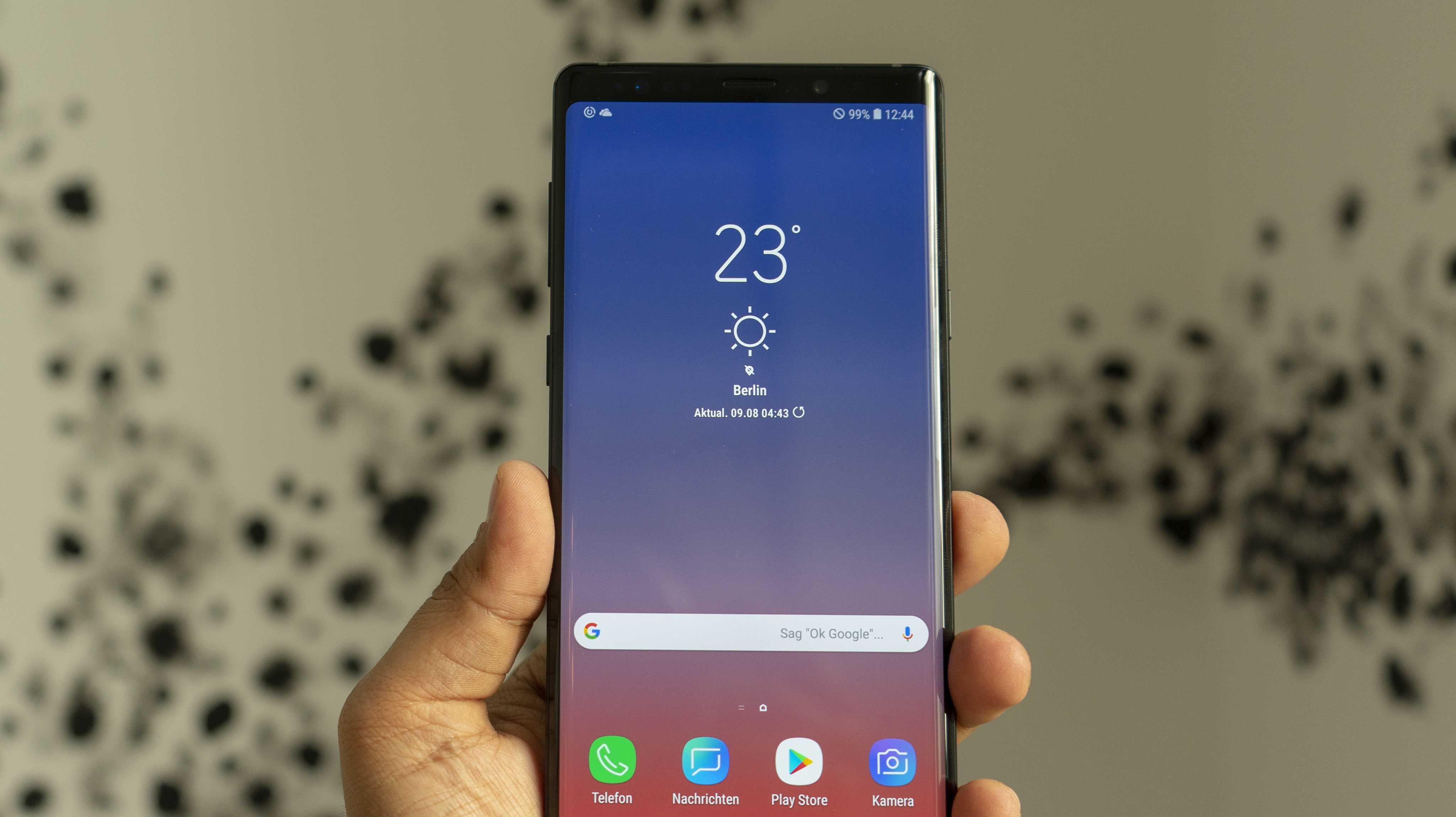 Galaxy Note 9 vorgestellt: S-Pen mit Bluetooth und 6,4-Zoll-Display bestätigt