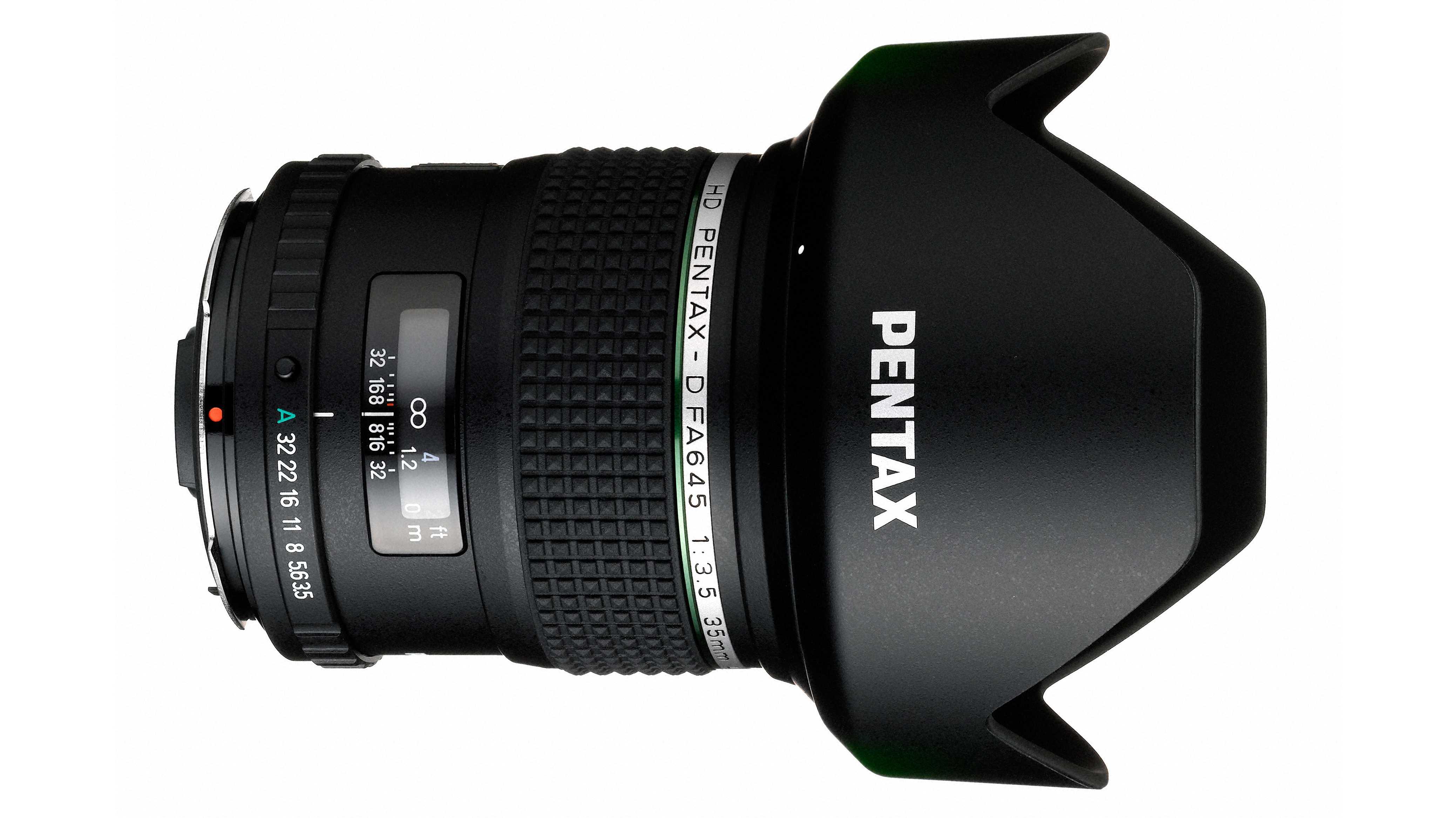 Pentax: Weitwinkelobjektiv für Mittelformatsystem 645