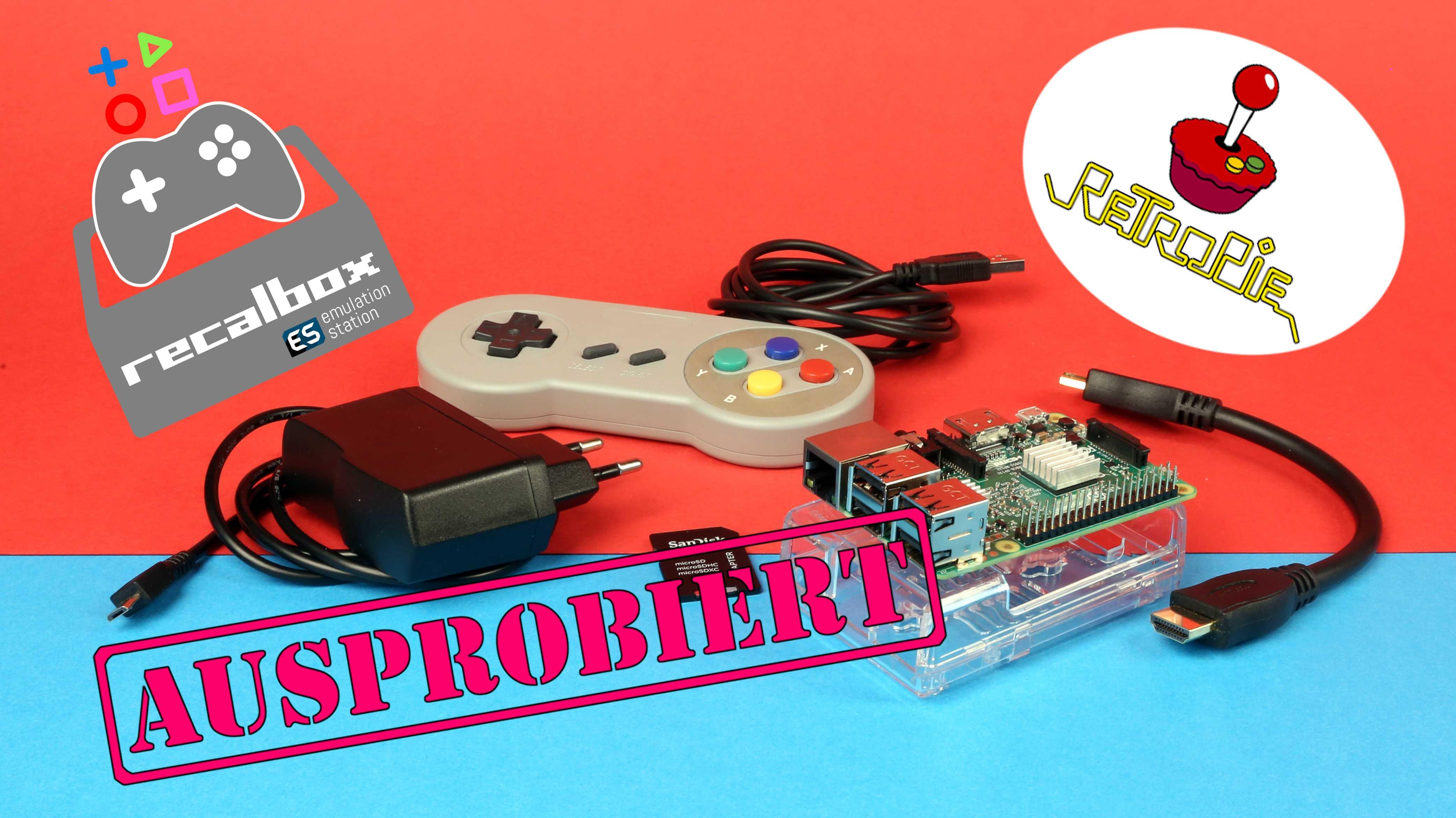 Retrokonsole selber bauen: Recalbox oder Retropie?