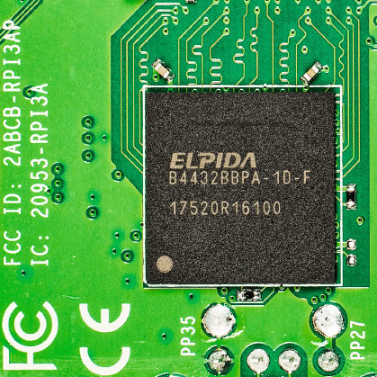 RAM-Baustein des Raspberry Pi 3A+