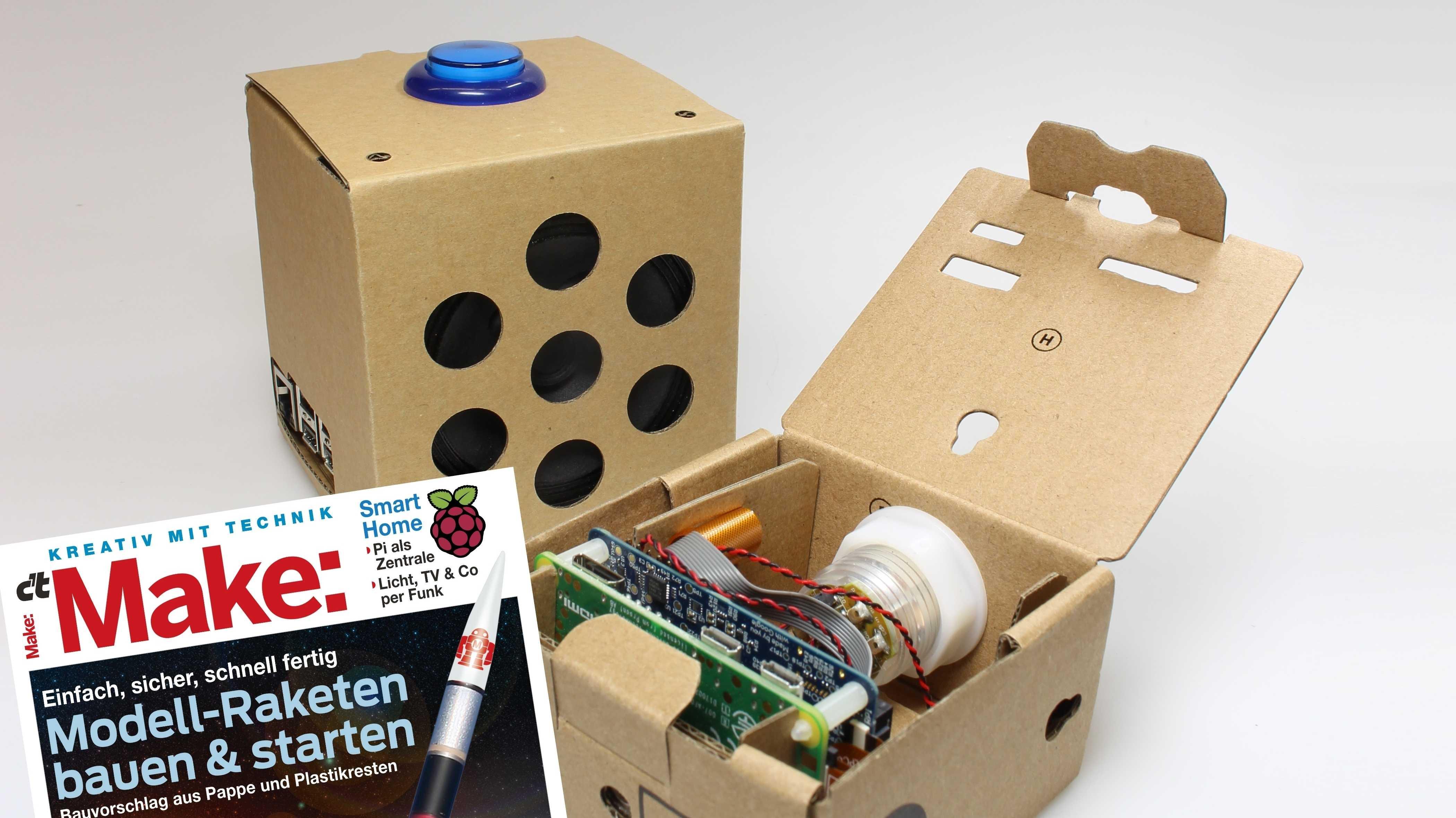 Make Magazin vor Google AIY Vision Kit und Raspberry Pi