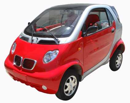 Kommt einem irgendwie bekannt vor: Das E-Car-Modell XFD600ZK von Shandong Baoya Vehicle