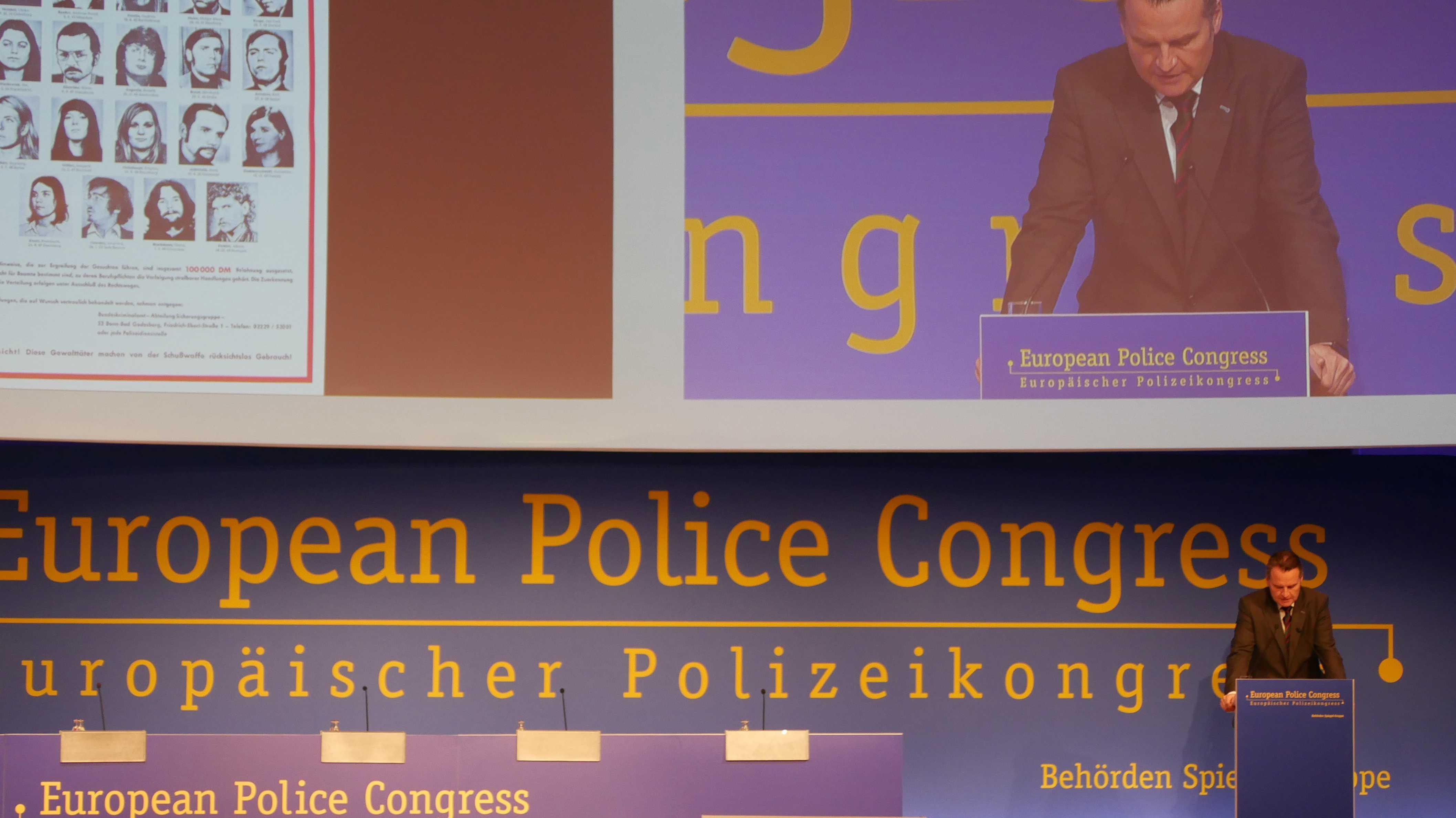 """Europäischer Polizeikongress: Regierungskoalition baut """"Digitales Haus der Polizei"""""""