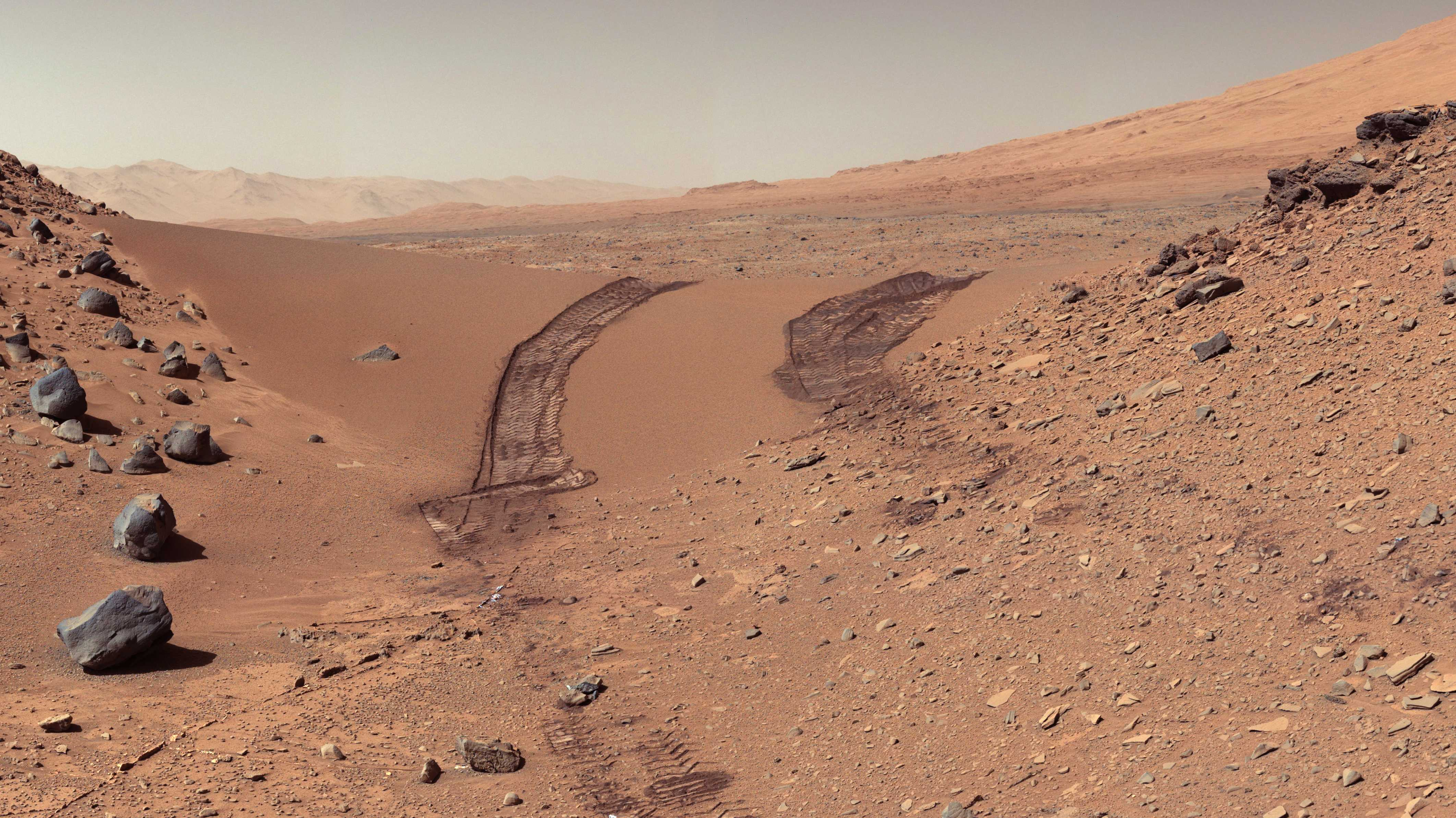 Mars-Rover Curiosity misst überraschende Methan-Schwankungen