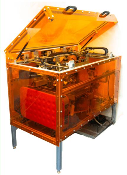 Der MIT-3D-Drucker besteht aus handelsüblicher Hardware und soll weniger als 7000 US-Dollar gekostet haben.