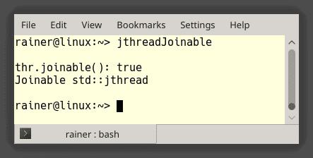 Ein verbesserter Thread mit C++20