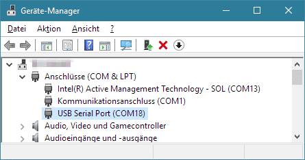 Windows-Gerätemanager