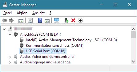 Windows-Gerätemanager
