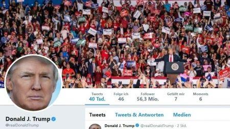 Trump: Google, Facebook und Twitter