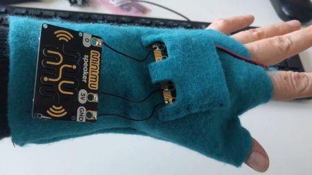 Musik durch Gesten: Der Mini.Mu-Handschuh