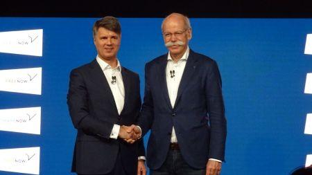 Ziel autonomes Elektro-Auto: BMW und Daimler schieben