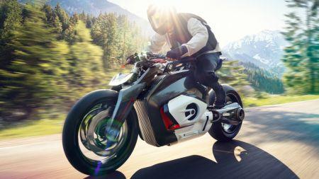 Studie für ein Elektro-Motorrad von BMW: Vision DC Roadster