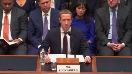 Zuckerberg verteidigt umstrittene Digitalwährung Libra im US-Kongress
