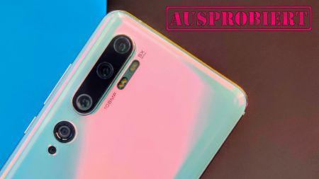 TechStage   Xiaomi Mi Note 10 im Test: 108-Megapixel-Kamera und Monster-Akku