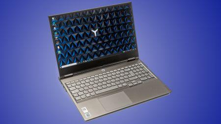 heise+   Flaches Notebook mit 15,6-Zoll-Display: Lenovo Legion Y740Si im Test